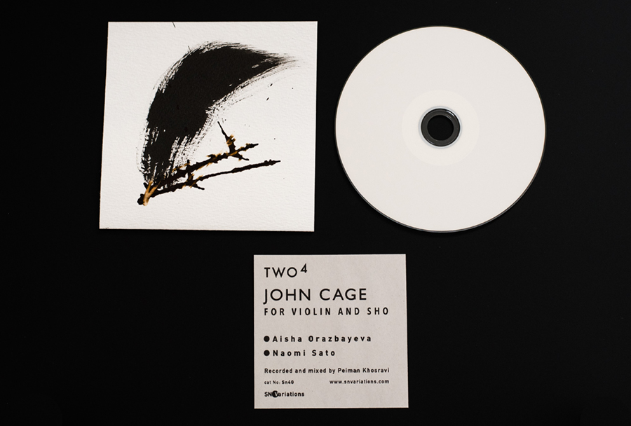 SN Variations Two4 John Cage Limited Edition CD